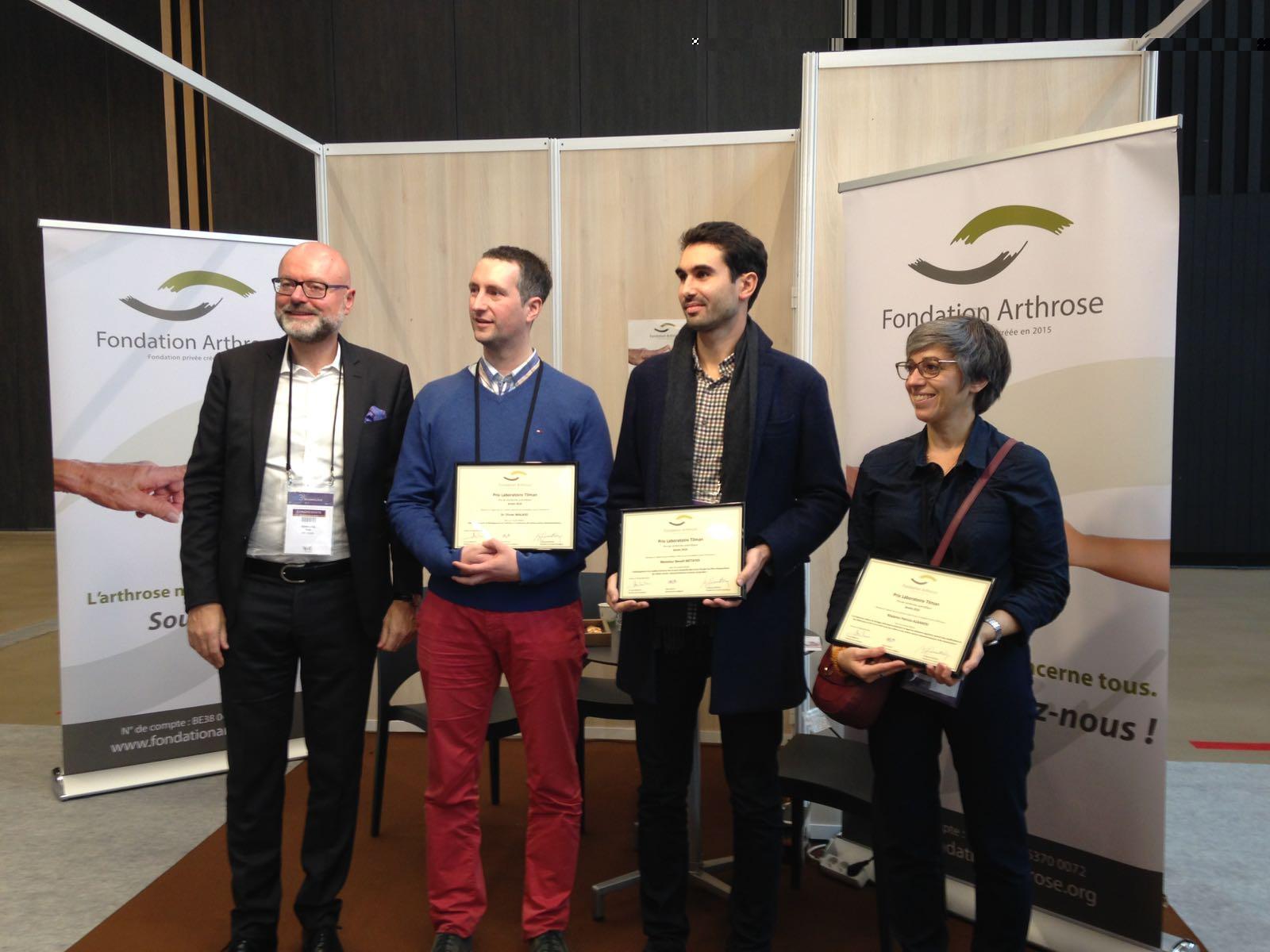 Prix Fondation Arthrose