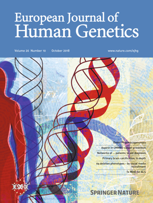 European J of Human Genetics