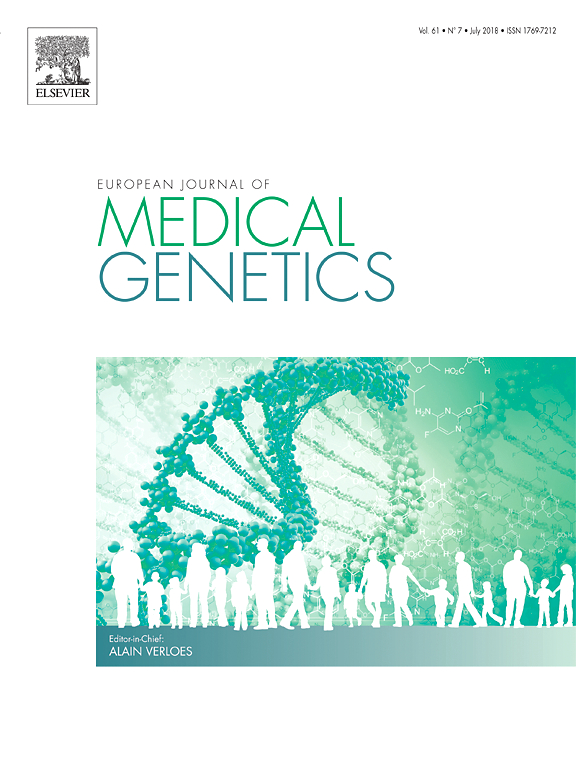 European Journal of Medical Genetics