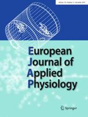 Eur J Appl Physiol. 2019 Jan 4